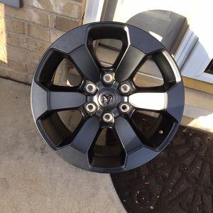 Ram 1500 18in Black Rims X 4 6 Lug for Sale in Mokena, IL
