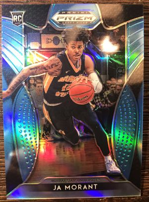 2019-20 Ja Morant Panini Prizm /30 rookie card cases and top loaded for Sale in Lake Worth, FL