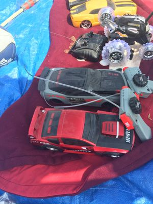 Remote control cars. They are tag cars. Kids can make a game out of it. Works great. for Sale in Florence Township, NJ
