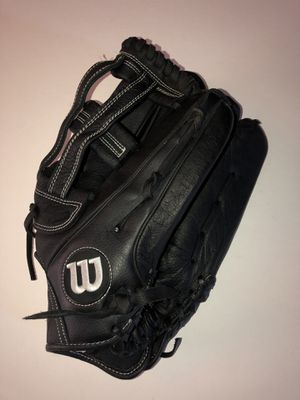 "Wilson softball glove 14"" leather for Sale in Riverside, CA"