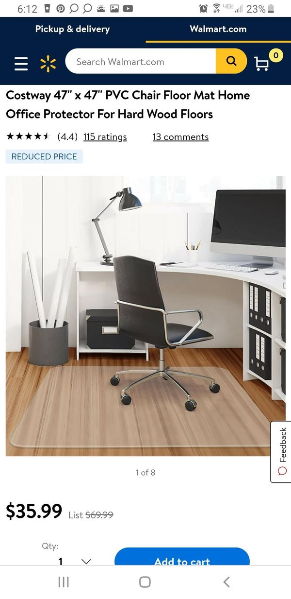 Floor Mat protector for Office or Home