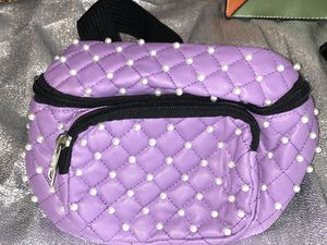 Sm Quilted Pearl Waist Bag - Purple for Sale in Philadelphia, PA