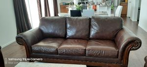 Leather sofa for Sale in Parker, CO