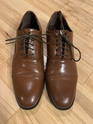 Unlisted Kenneth Cole Brown Leather Dress Shoes for Sale in Traverse City, MI