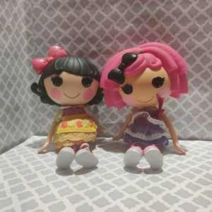 Lalaloopsy Not One But Two Beautiful Pre-owned 2009 Dolls for Sale in West Islip, NY