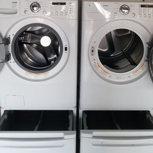 front load washer and electric dryer matching set for Sale in Lathrop, CA