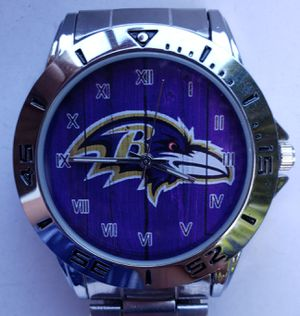 Stainless Steel Baltimore Ravens Watch for Sale in Baltimore, MD