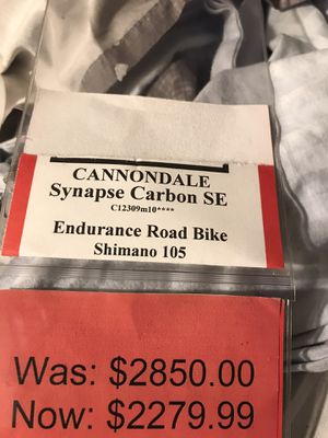 Cannondale Synapse Carbon Se Endurance Road Bike Shimano 105 for Sale in Chicago, IL
