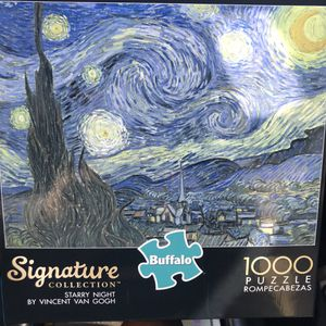 NEW!!! 1000 Piece Puzzle VAN GOGH'S STARRY NIGHT for Sale in Torrance, CA