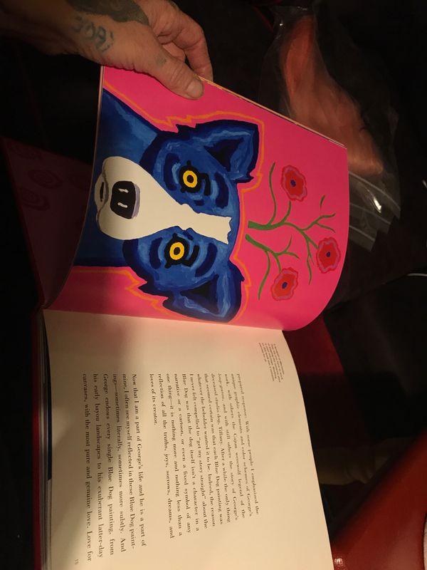 Children's book Blue Dog Love