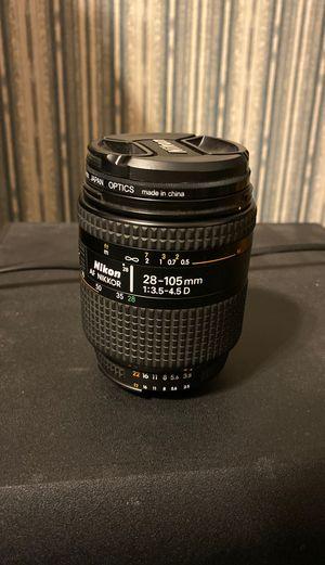 Nikon AF Nikkor 28-105 mm for Sale in Vancouver, WA