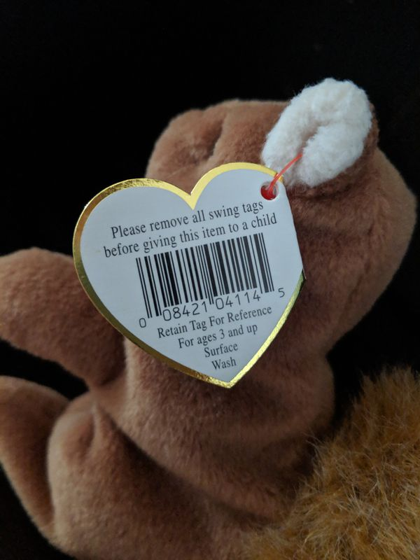 Beanie Babies. This is Nutz.