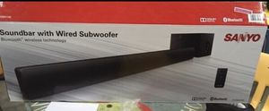Sanyo soundbar and subwoofer for Sale in Florence, KY
