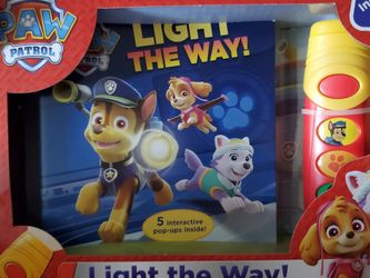 Paw Patrol Book And Flashlight for Sale in Belleview,  FL