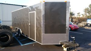 5x8 8.5x24 ENCLOSED VNOSE ALUMINUM TRAILERS for Sale in New York, NY