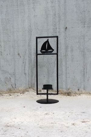 """Black Metal Tea Light Candle Holder 14"""" Tall x 5"""" Wide for Sale in Tampa, FL"""