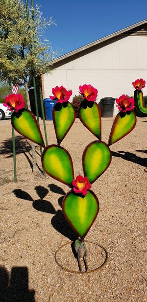 """Colorful Painted Metal """" Flowered """" """"Prickly Pear"""" ... for Sale in Scottsdale, AZ"""