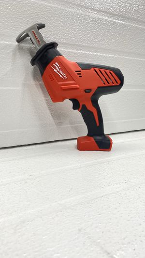 Milwaukee M18 18-Volt Lithium-Ion Cordless Hackzall Reciprocating Saw (Tool-Only) for Sale in Bakersfield, CA