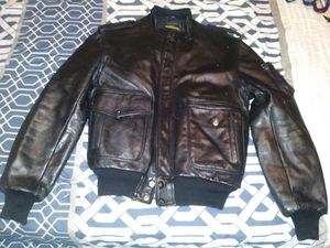 Vintage Yamaha Leather Motorcycle Jacket for Sale in Richwoods, MO