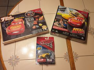 BRAND NEW. 3 FOR 1 . DISNEY PIXAR CARS 3 PLAYSETS for Sale in Hudson, FL