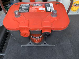 RED TOP OPTIMA BATTERIES AVAILABLE for Sale in Anaheim, CA