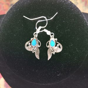 """""""Celtic Blue"""" Real sky blue turquoise stones in a sterling silver setting with leafy Celtic design for Sale in Nashville, TN"""