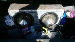 I have a amp and 12's for sale for Sale in Raleigh, NC