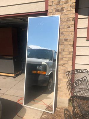 Very large. Over sized. Framed mirror for Sale in Denver, CO