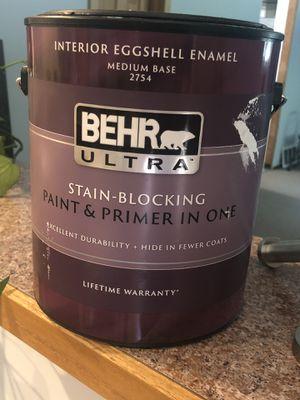 Behr indoor paint for Sale in Redmond, WA