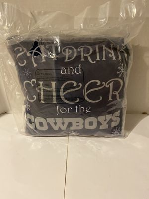 Dallas Cowboys Holiday Pillow for Sale in Palmdale, CA