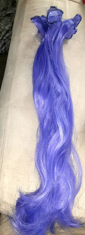 26 inch extensions purple for Sale in Las Vegas, NV