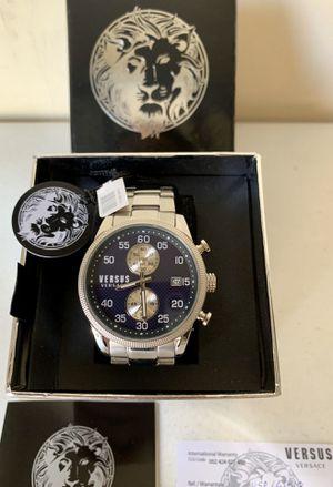 Versus Versace Stainless Steel 43mm Quartz unisex watch for Sale in Flower Mound, TX