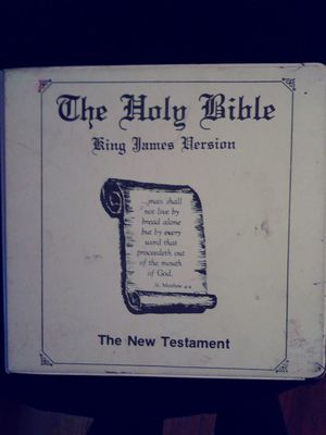 The Holy Bible on Cassette Tapes for Sale in Montgomery, AL