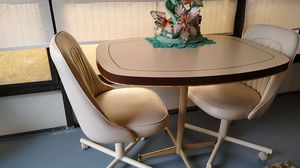 Small table Formica (patio set,) 2chairs for Sale in Hudson, FL