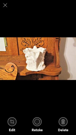 BISQUE ANGEL CANDLEHOLDER for Sale in Lynchburg, VA