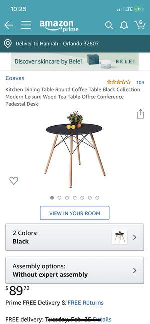 Black Modern Kitchen Table (Check Other Listings) for Sale in Azalea Park, FL