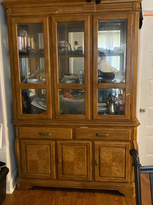 Free China cabinet for Sale in Chicago Heights, IL