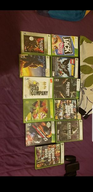 Xbox 360 game lot for Sale in Los Angeles, CA
