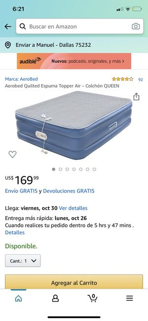 Cama inflable nueva en caja for Sale in Dallas, TX