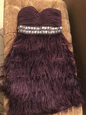 Size 3/4 purple fringe dress for Sale in Cape Coral, FL