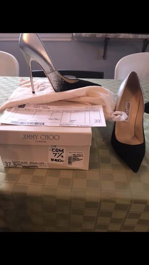 Jimmy choo women's heels size 7 1/2 - limited edition pair for Sale in Grosse Pointe Farms, MI