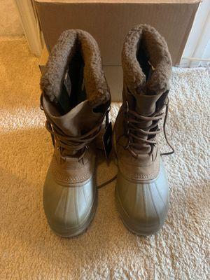 Caribou Sorel waterproof Men's Boots. Size 10.5 never worn for Sale in Washington, DC