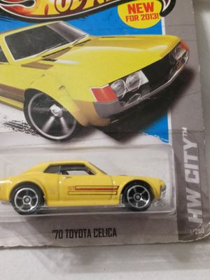 Hot Wheels HW City 1/250 Yellow '70 Toyota Celica for Sale in Palmdale, CA