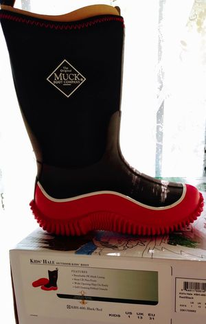 Boys Rain Boots Size 1 New for Sale in Oroville, CA