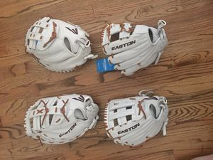 Easton Pro Collection Fastpitch Softball Gloves for Sale in Houston, TX
