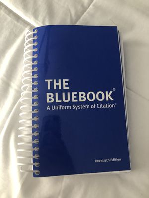 The Blue Book A Uniform System of Citation for Sale in Garland, TX