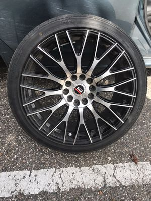 18 inch rims and tires for Sale in Gibsonton, FL