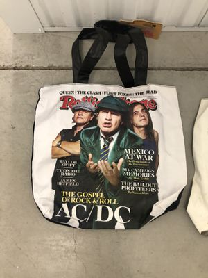 Rolling stone tote bags for Sale in McKinney, TX