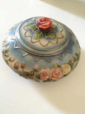 Hand painted candy dish for Sale in Beverly Hills, CA