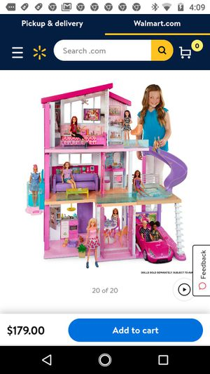Brand new Barbie dreamhouse in box still ,complete 70 + pieces . for Sale in Costa Mesa, CA